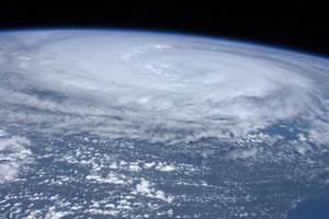 Hurricane Irene as seen from the space