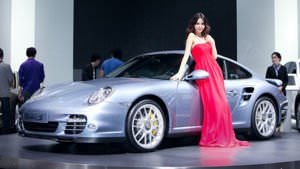 Porsche Turbo S at the 2010 Beijing Auto Show