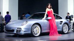 Porsche Turbo S at the 2010 Beijing Auto Show